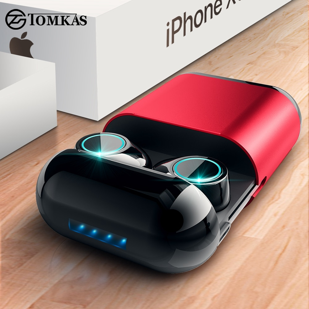 TOMKAS Bluetooth Headphones TWS Earbuds Wireless Bluetooth Earphones Stereo  Headset Bluetooth Earphone With Mic and Charging Box | WordPress Sample